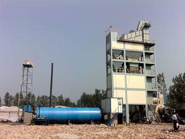 asphalt batch mix plants