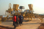 portable asphalt batch plants
